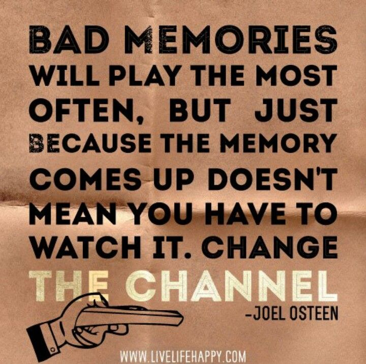 Captivating Bad Memories