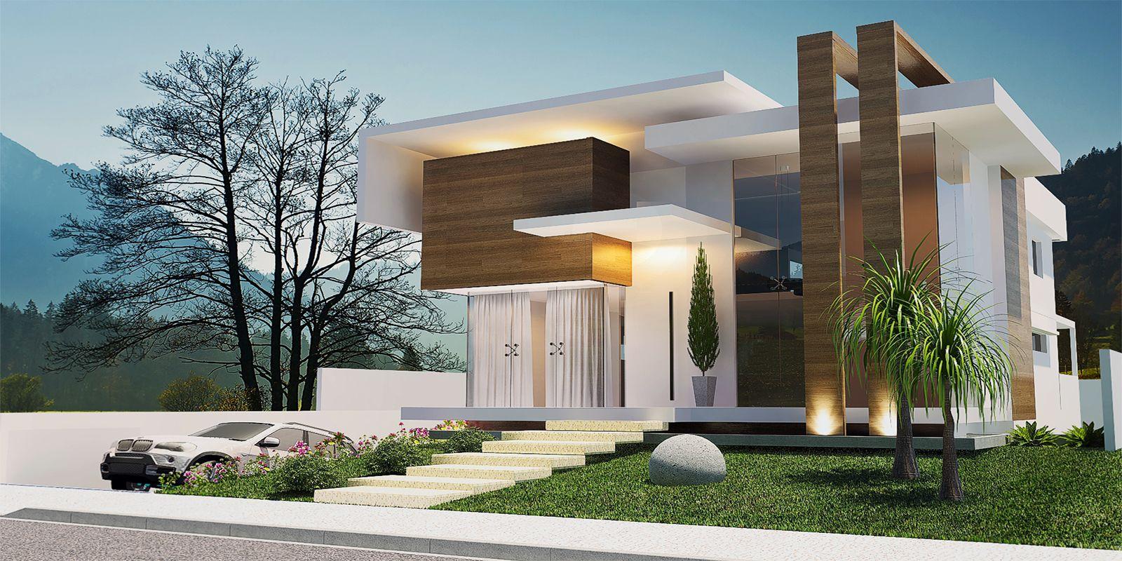 Casas 11 copiar architecture casas arquitectura for Casa moderna 7 mirote y blancana
