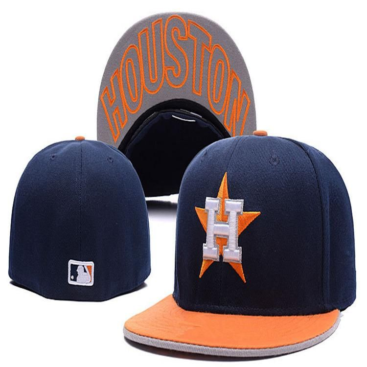Wholesale  Houston  Astros hat h letter fitted  hats Mexico hats m letter  fitted hats baseball cap team baseball flat-brim size fans cap fea75c5c7dd