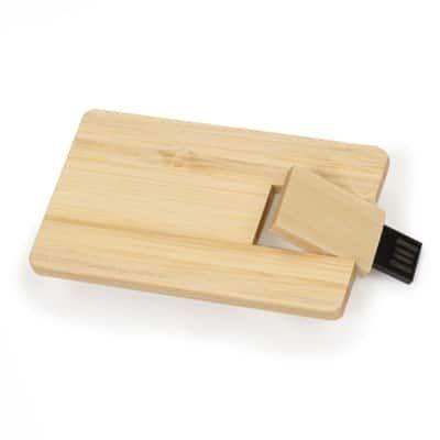 6ec0f83bf Pen Drive Card ECO 4 em Bambú