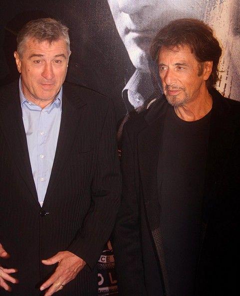 Robert De Niro And Al Pacino Photos Photos Righteous Kill Rome