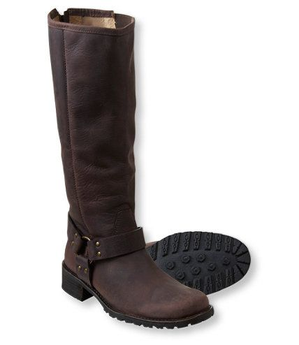 Women S Deerfield Rustic Harness Boots Tall Casual Boots