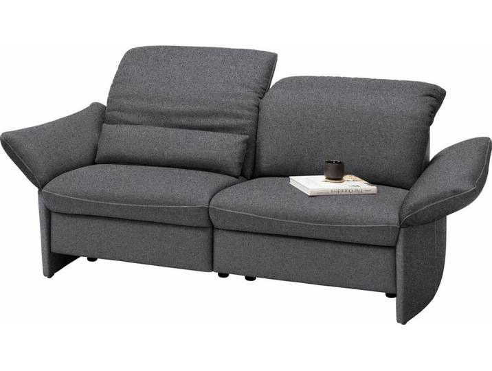 Gallery M 3 Sitzer Viviana Grau Ohne Relaxfunktion Dark Grey Floris 3 Sitzer Sofa Lounge Garnitur Wohnen
