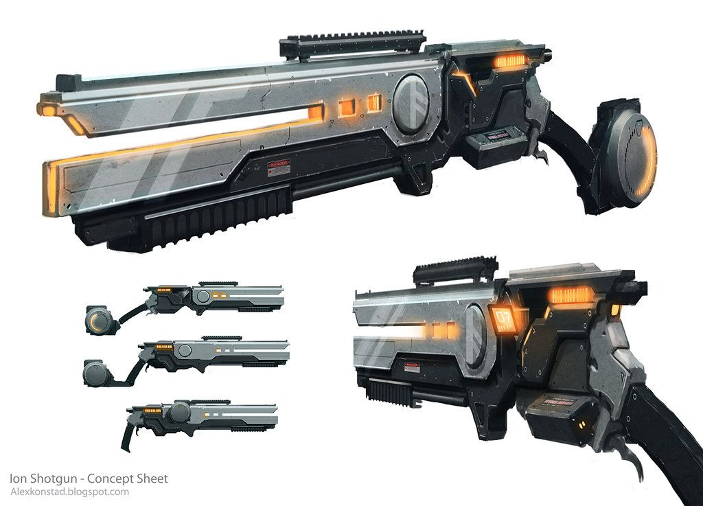 Ion Shotgun by AlexKonstad on DeviantArt | Machines ...