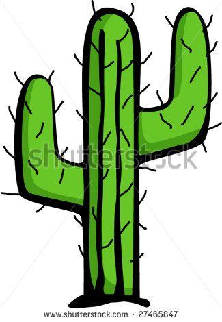 Desert Cactus Clip Art