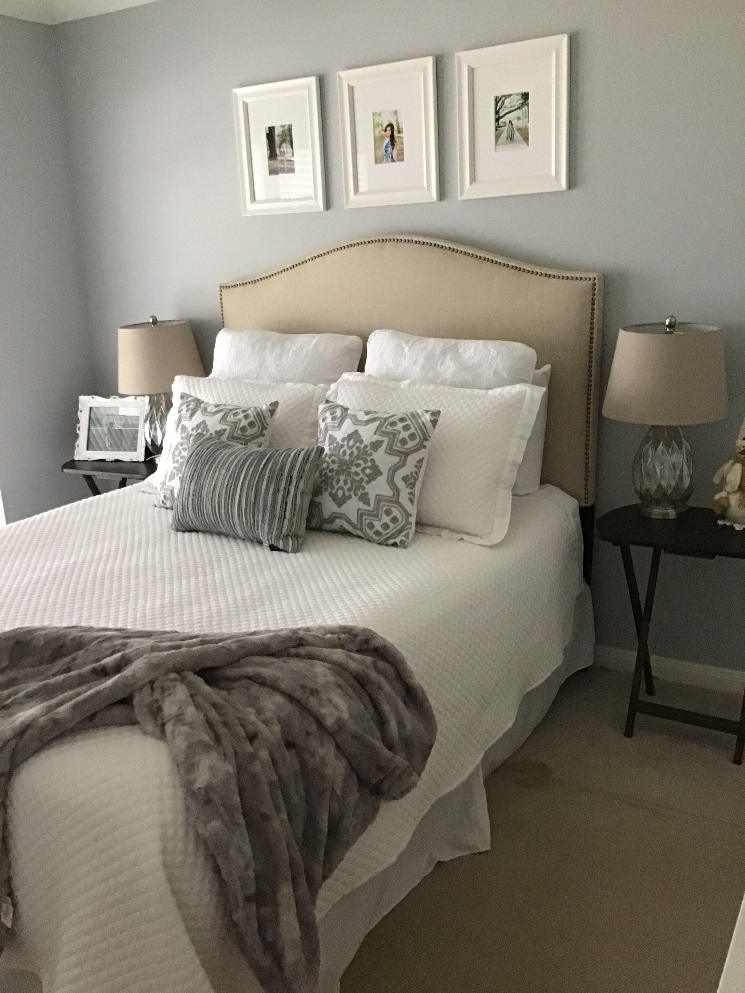 Sherwin Williams Gray Screen (Daytime)   Gray bedroom ...
