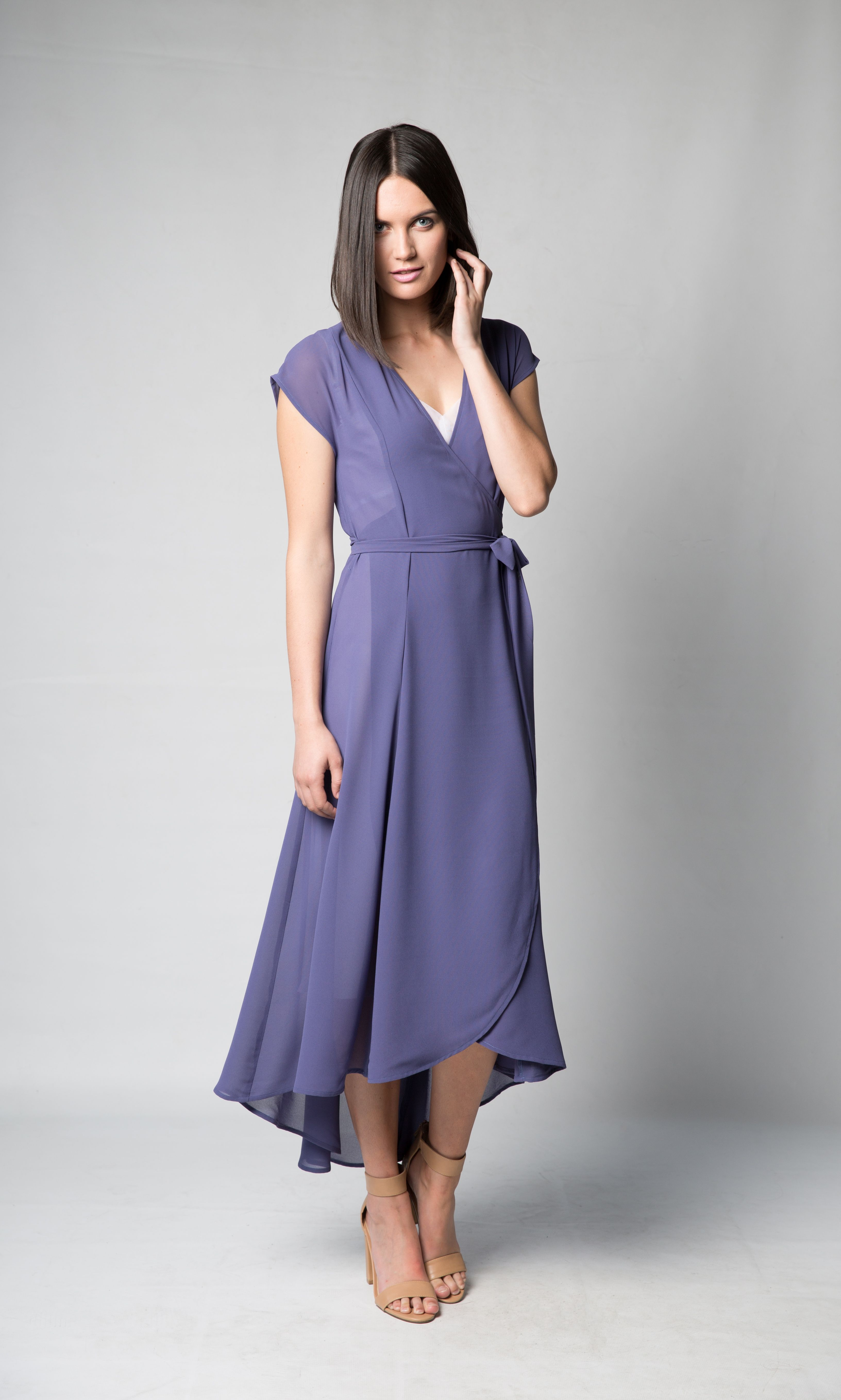 Purple Summer Dresses to Wear to a Wedding