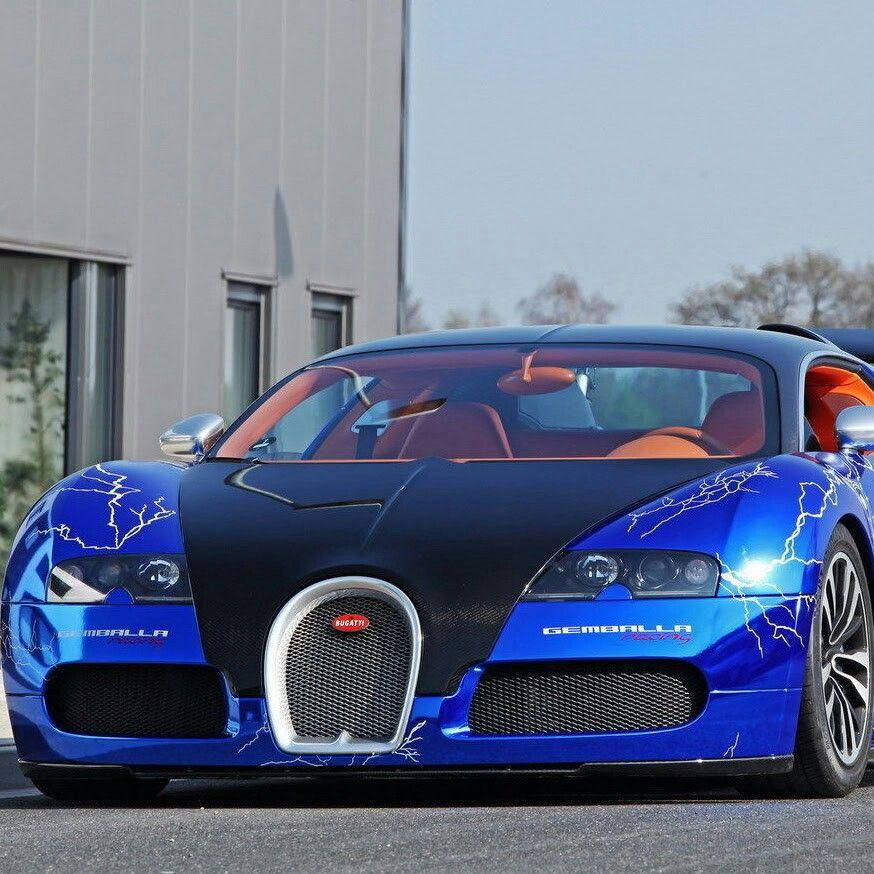 Lightning On This Beautiful Bugatti