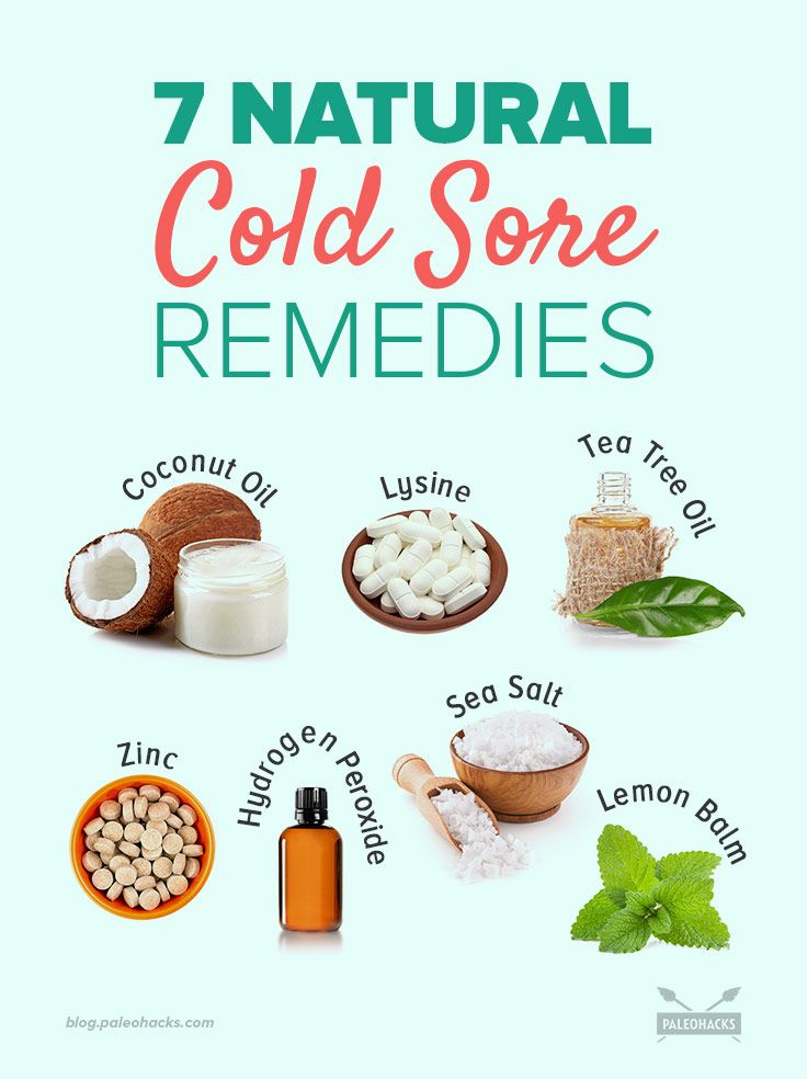 7 Natural Ways To Get Rid Of Cold Sores Natural Cold