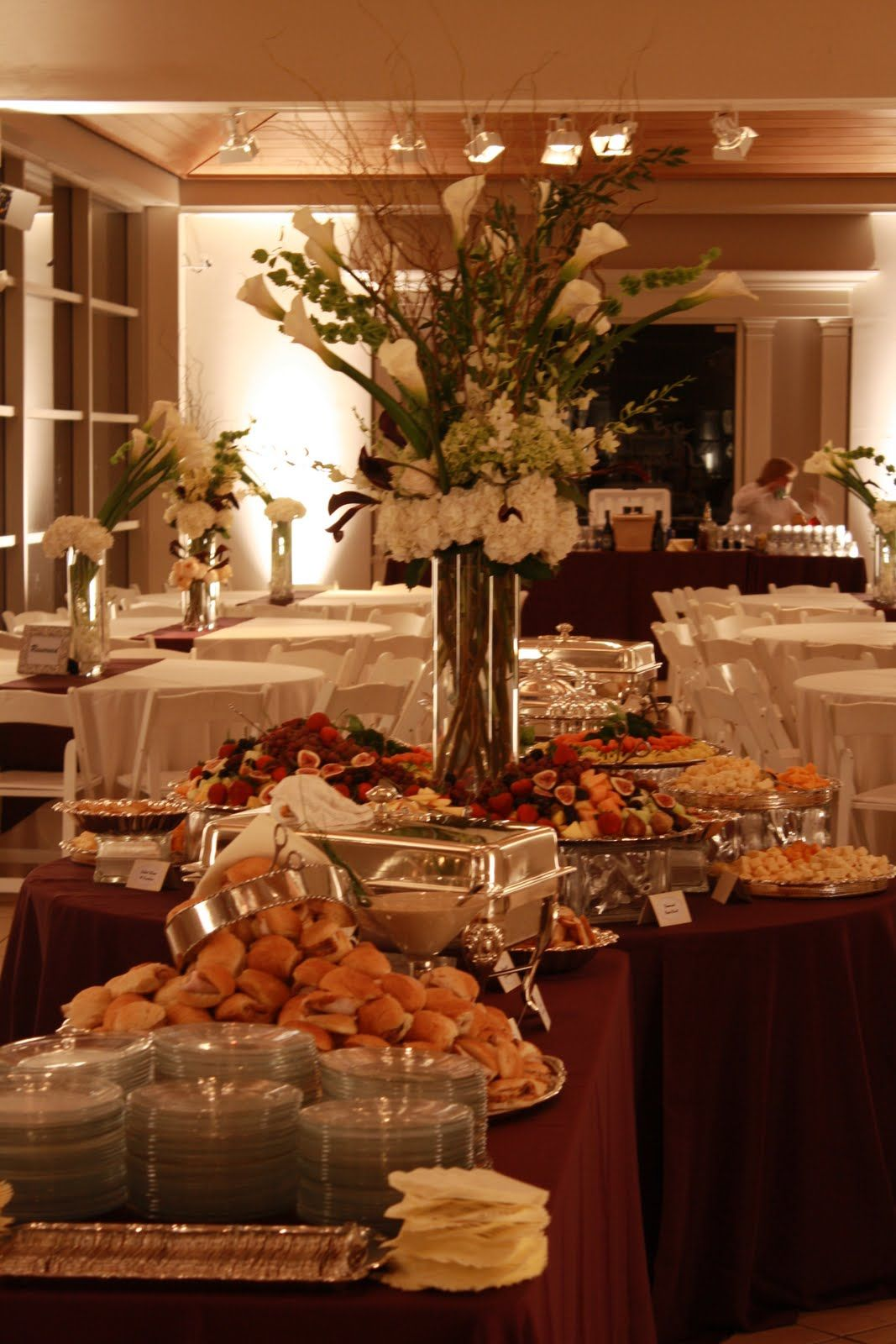 To Give You An Idea Of Heavy Hors Doeuvre Buffets Wedding Food BarsWedding Reception