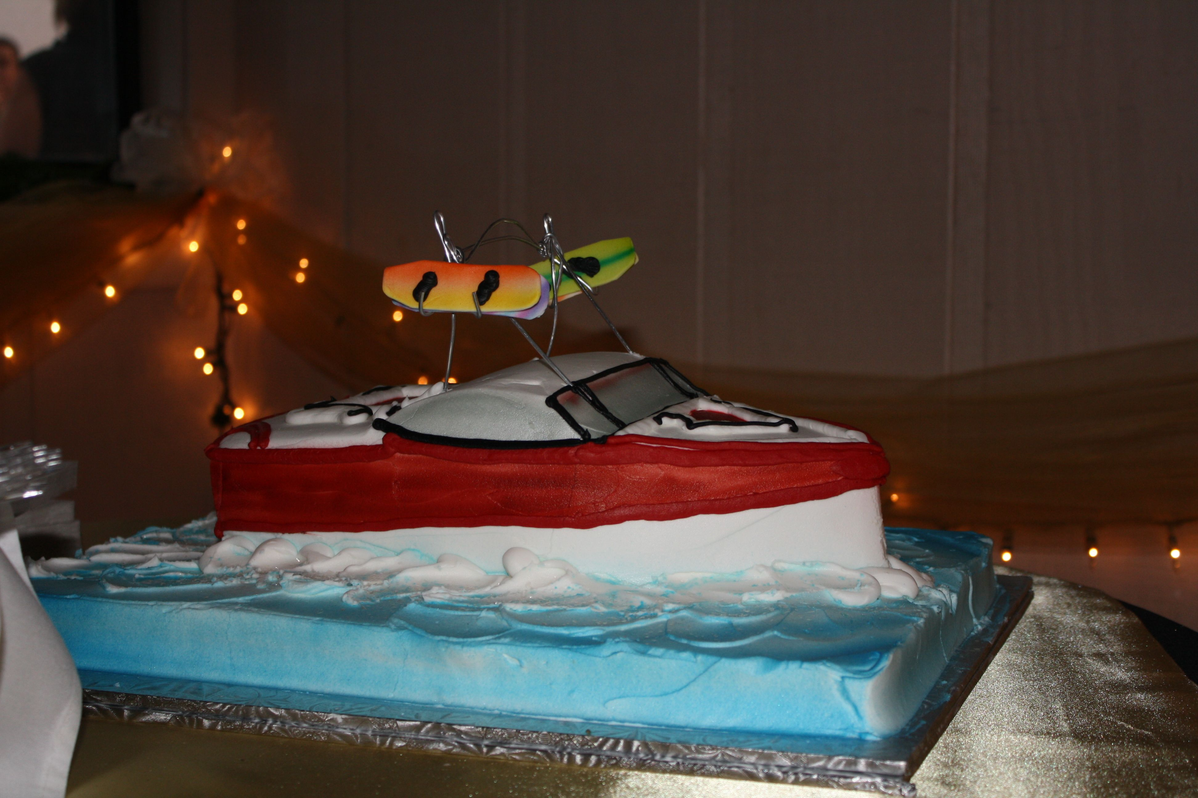 Groom's cake-easy to change the icing color.