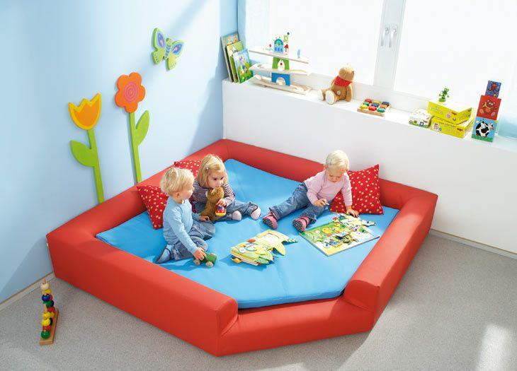 Krabbelraum - Gruppenräume - Raumkonzepte - Kinder unter 3 ...