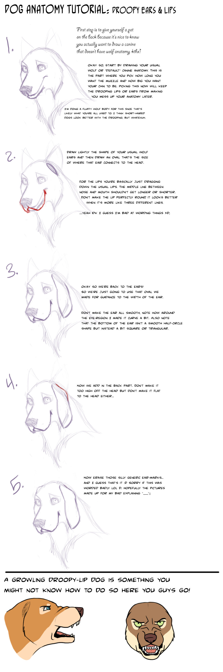 Dog+Tut:+Droopy+lips+and+ears+by+AddictionHalfWay.deviantart.com+on ...