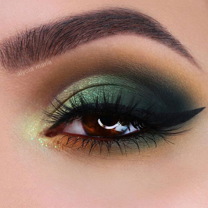 Amber Eyes: Definition, Personality Traits, Makeup Application Tips #eyemakeup