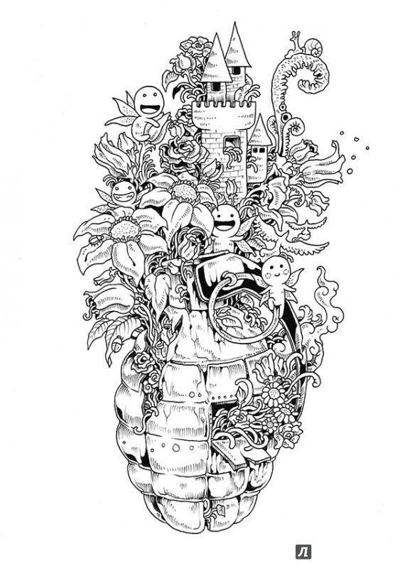 Иллюстрация 9 из 73 для Вторжение дудлов. Не самая обычная ...
