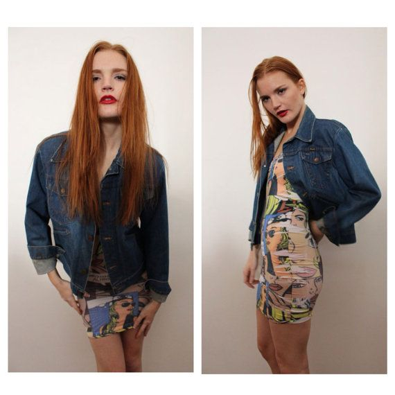 Vintage Wrangler Denim Jacket by rumors on Etsy, $48.00