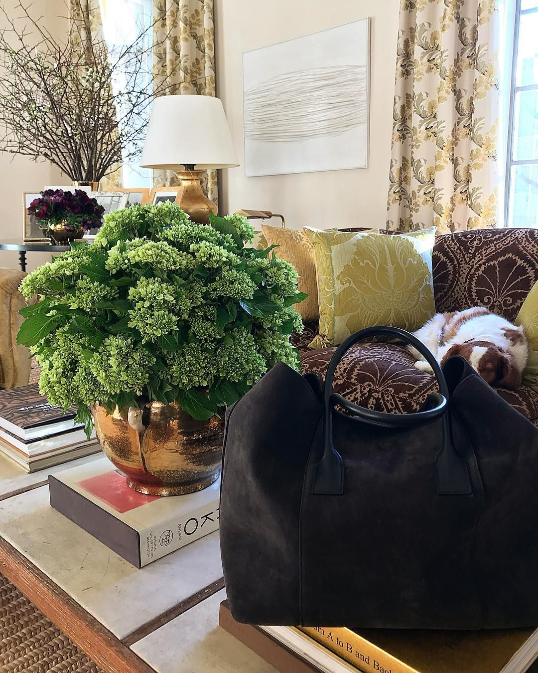 Aerin On Instagram Floralfriday At Home With Our Mini Weekender