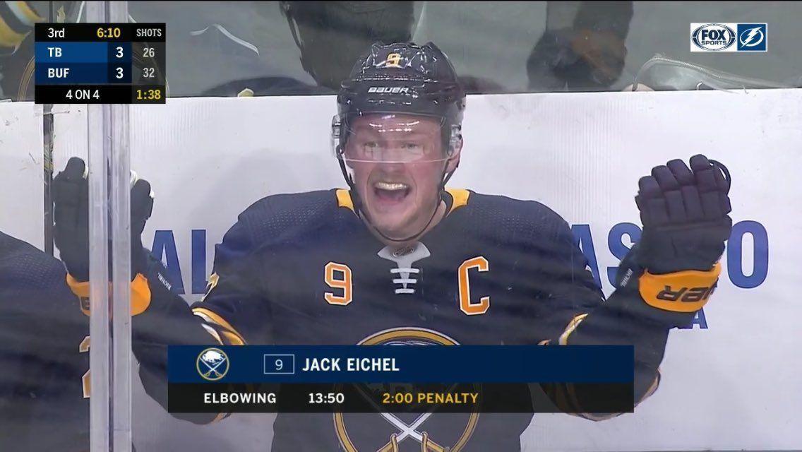 Jack Eichel: ki on Twitter: ''I LOVE JACK EICHEL WHAT ABOUT IT?'… '