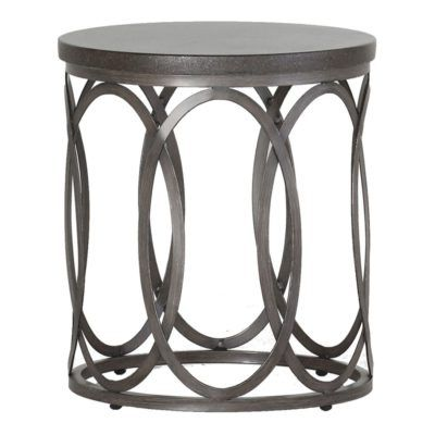 Ella End Table Summer Classics Side Table Outdoor End Tables Metal Dining Table
