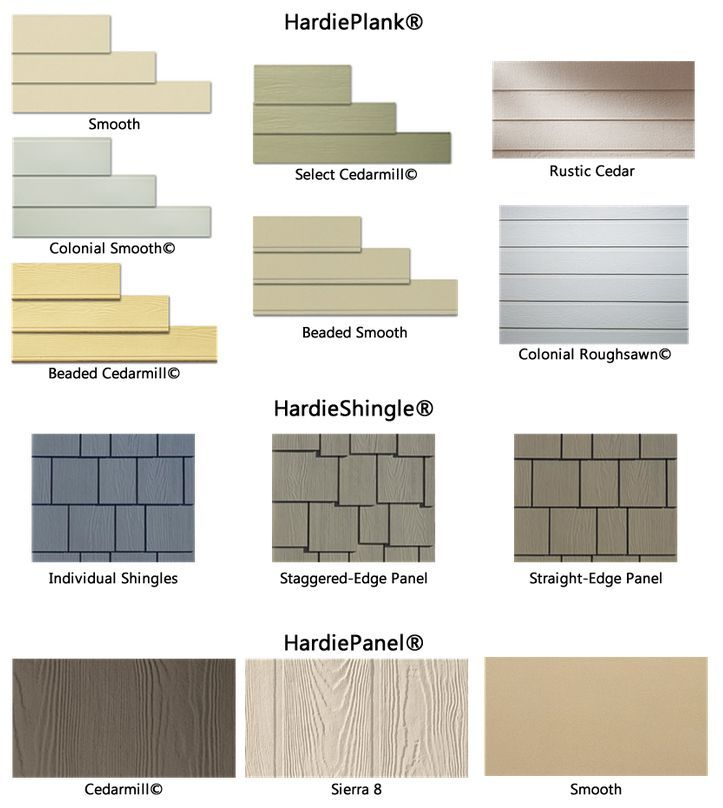 Hardie plank siding contractor hardipanel superior for Types of house siding