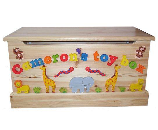 Cute Ways To Store Toys Toy Boxes Baby Boy Room Decor Safari Toys