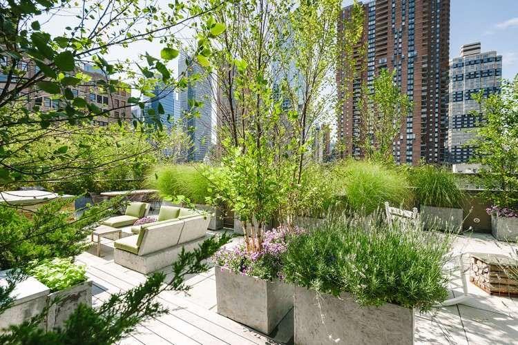 Jardin sur le toit 10 aspects consid rer pour un jardinage r ussi terrasse pinterest - Jardin sur terrasse toit dijon ...