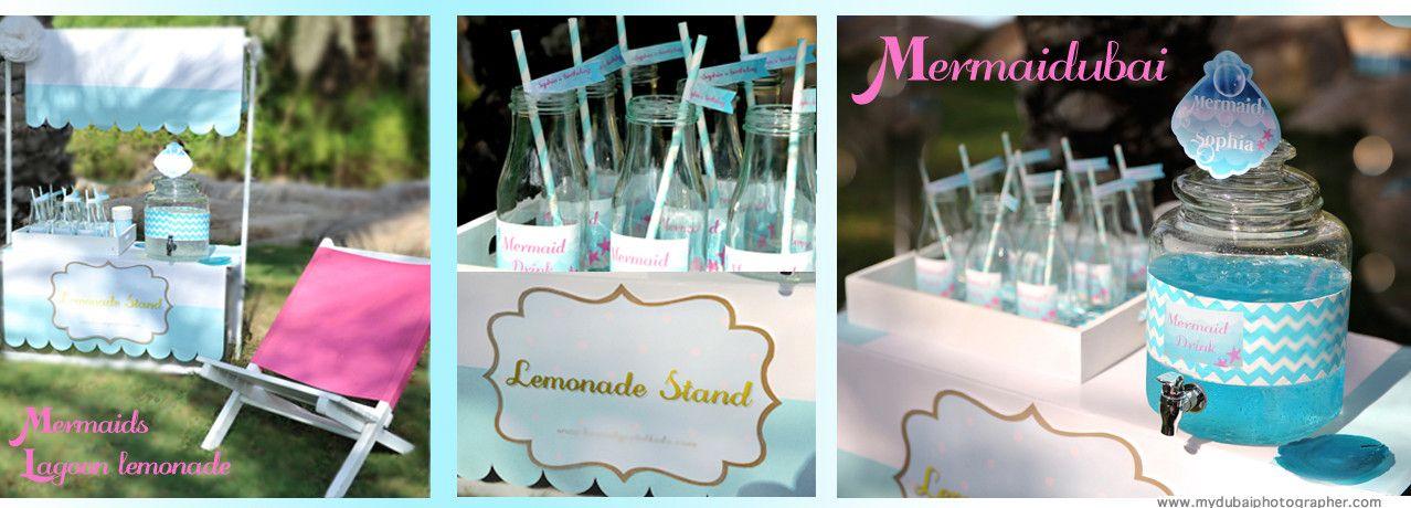 Blu lagoon lemonade recipe in www.mermaidubai.com/blog