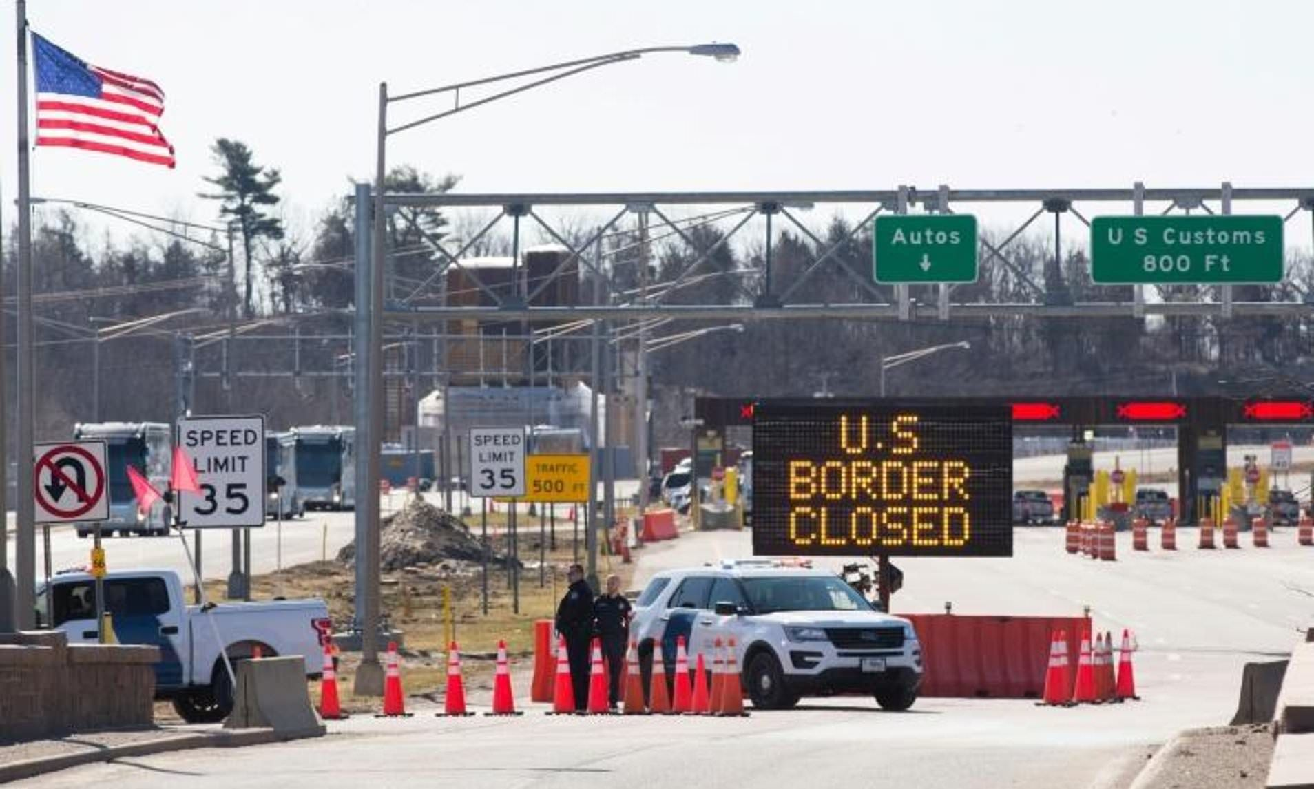 Canada And Mexico Borders Closed Until Extended Travel Travel Border