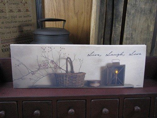 """Star Primitive Country w// Candles /""""Berry Basket/"""" Lighted by Billy Jacobs"""