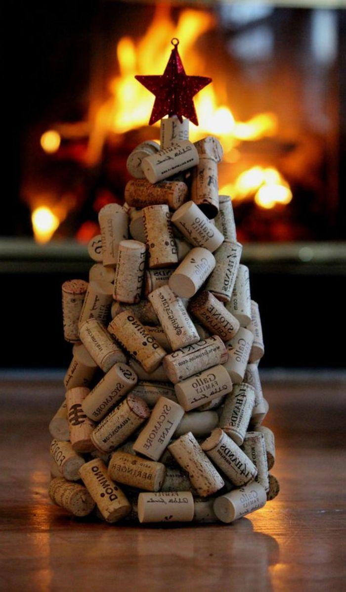 1001+ idées que faire avec des bouchons en liège | Deco noel