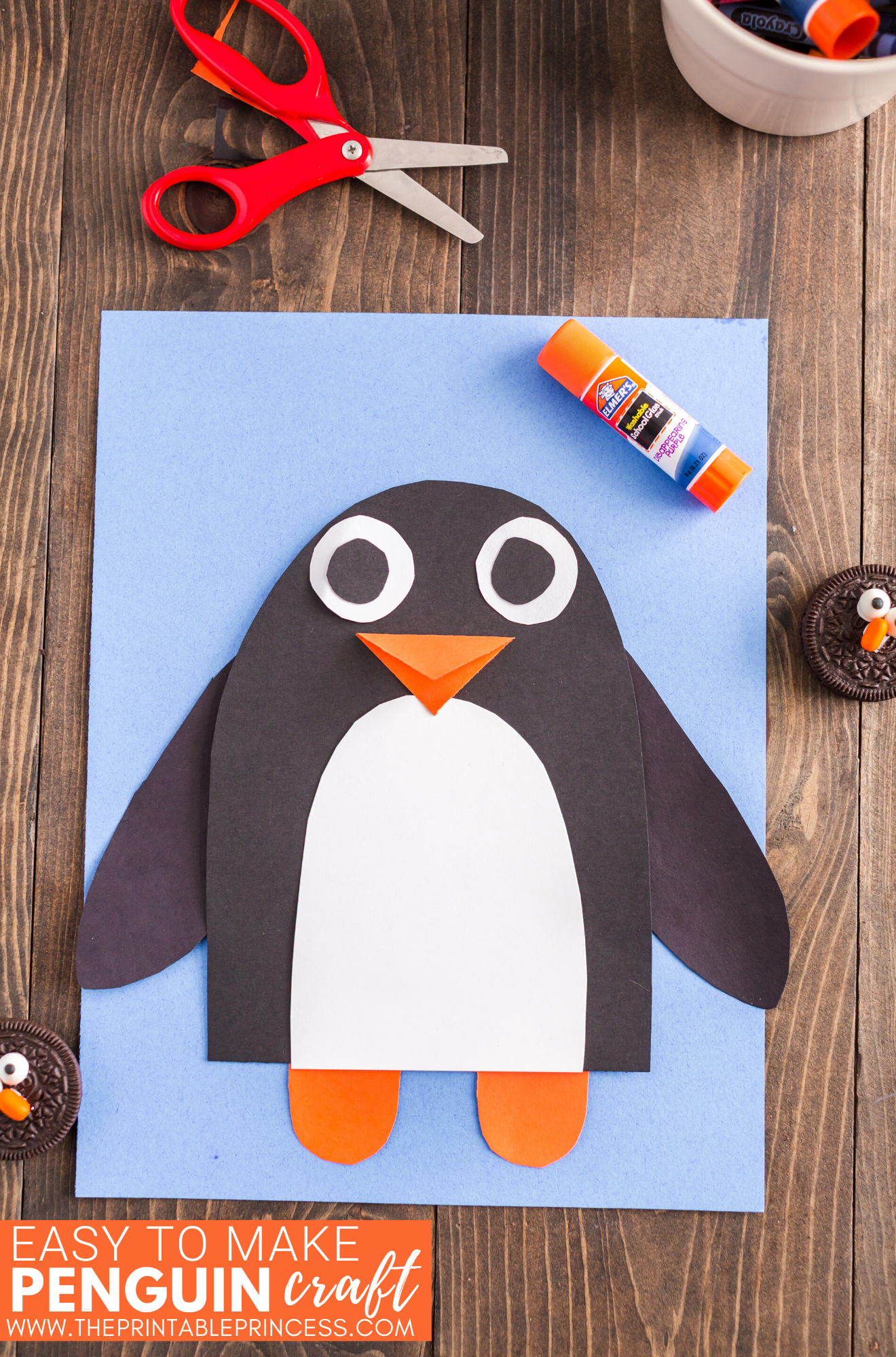 Penguin Craft for Kindergarten