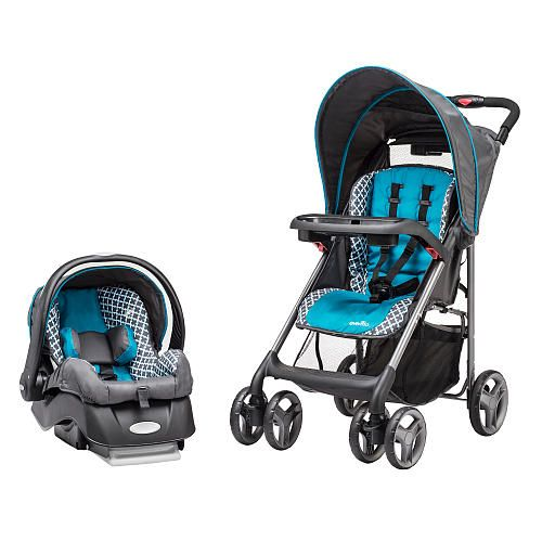 Evenflo Journeylite Travel System Stroller Monaco