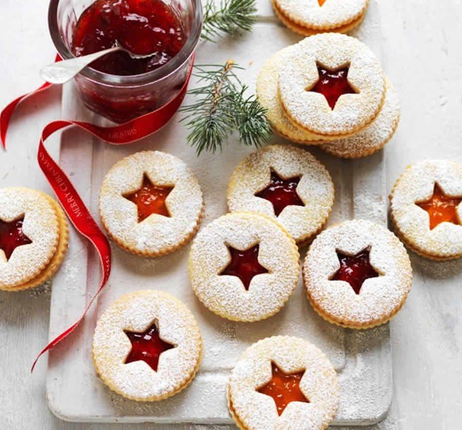 Sablés de Noël à la confiture #biscuitmadeleine