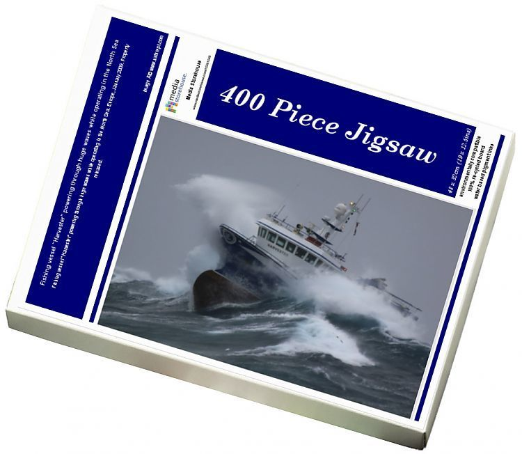 Jigsaw Puzzle-Fishing vessel