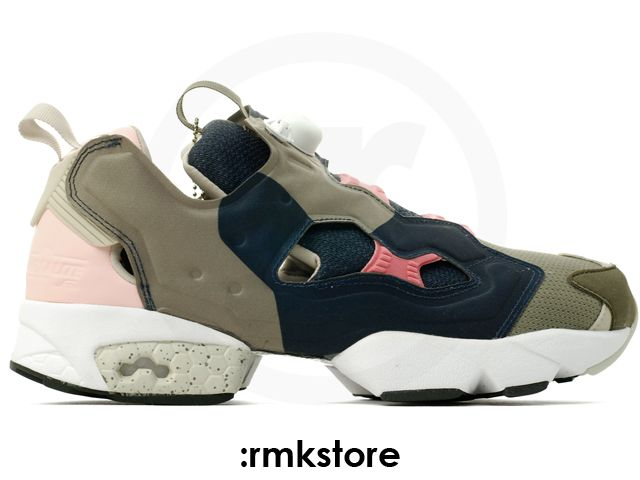 Reebok Insta Pump Fury OG Garbstore Nutmeg Navy Pink (V61150)