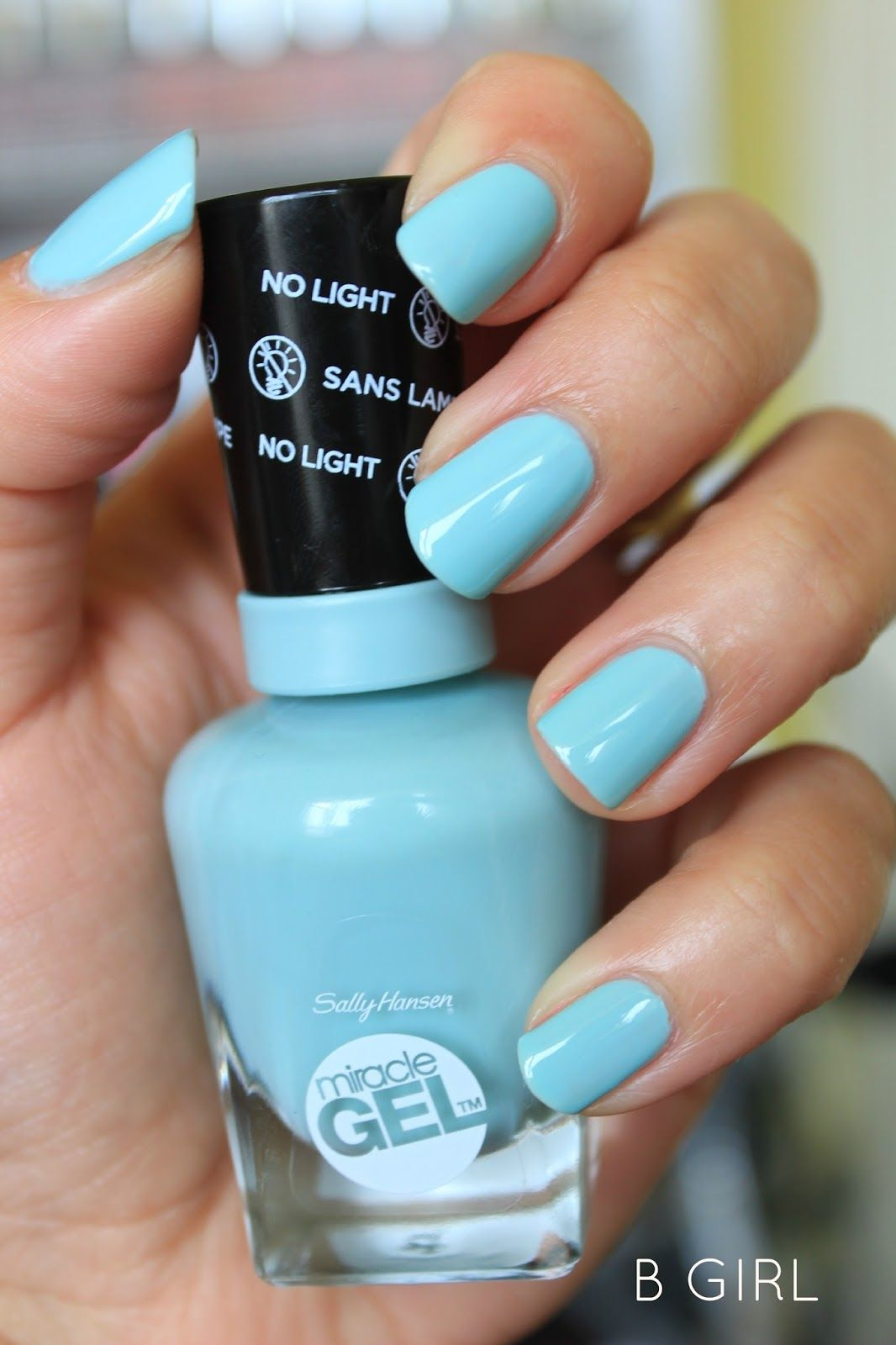 sally hansen miracle gel nail polish 'b girl' new favorite thing