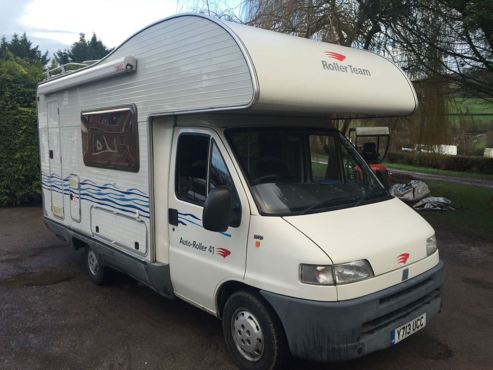 2001 y roller team fiat ducato 5 berth motorhome. Black Bedroom Furniture Sets. Home Design Ideas