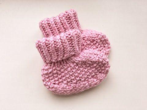 пинетки носочки для новорожденного вязание страна мам сделай