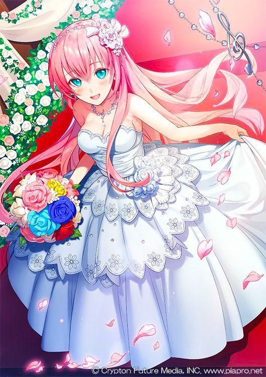 ウェディングドレス・ルカちゃん | chicas de anime | novias anime