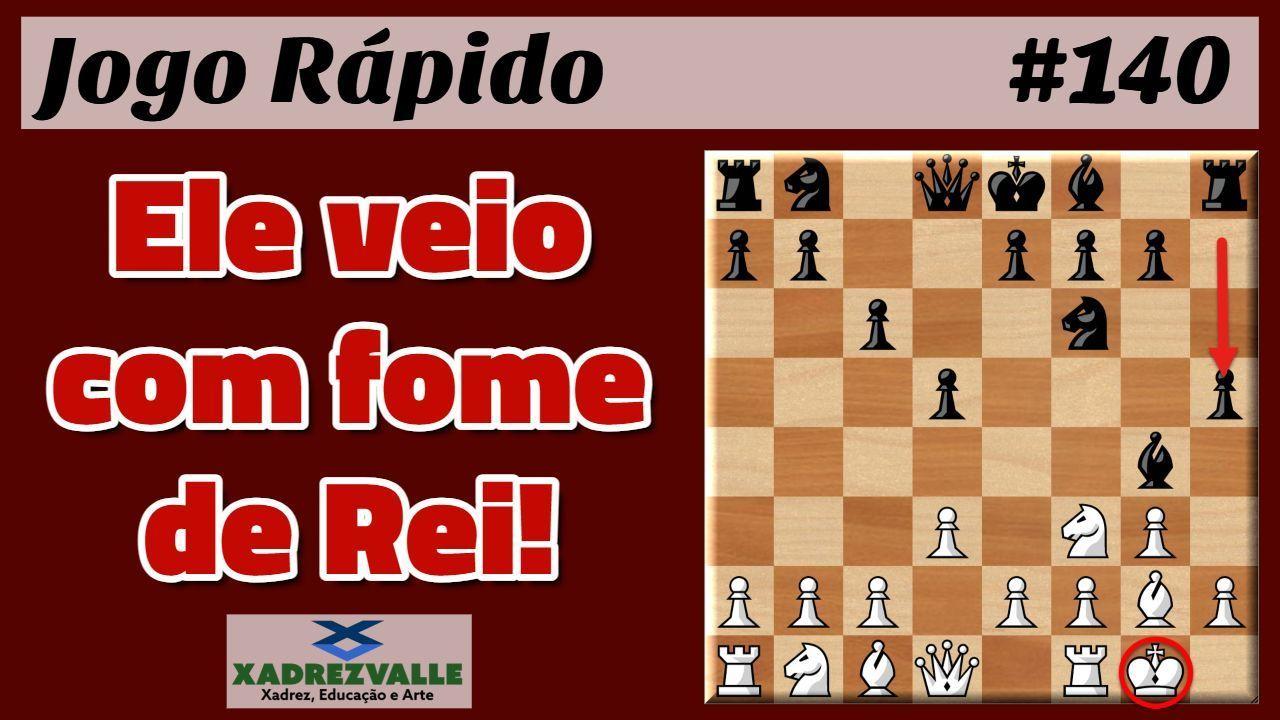 Serie Jogo Rapido Partidas Online Jogadas Pelo Mestre Fide Adriano Valle Nos Ritmos Blitz E Bullet Ele Veio Com Fome De Rei Xadr Xadrez Jogo Jogos Xadrez