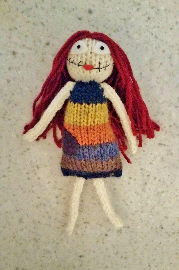 handmade sally knit doll sally doll nightmare before christmas nightmarebeforechristmas sally handmade doll - Nightmare Before Christmas Sally Doll