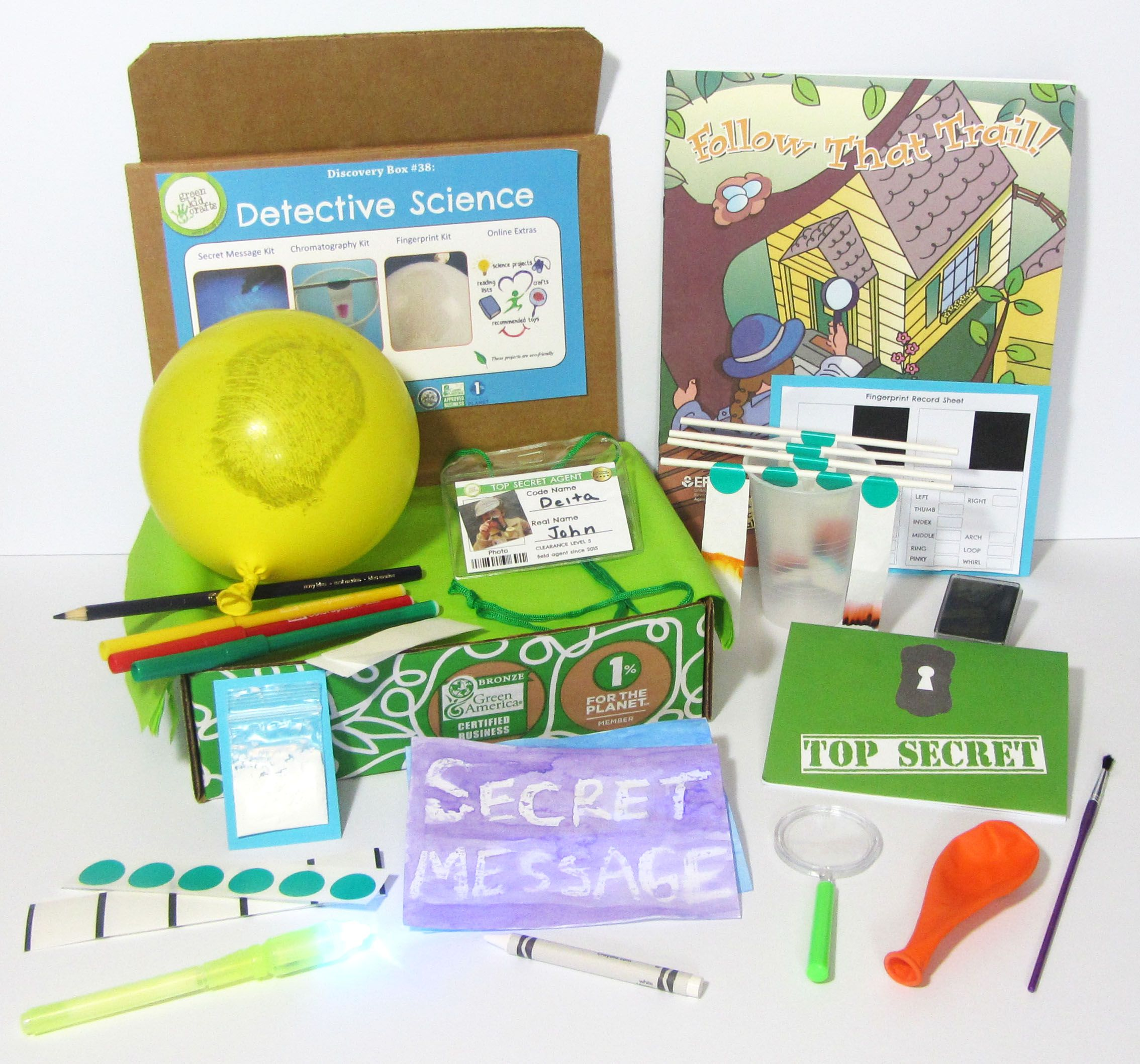 Monthly Arts and Craft Subscriptions for Kids | Monthly box | Green