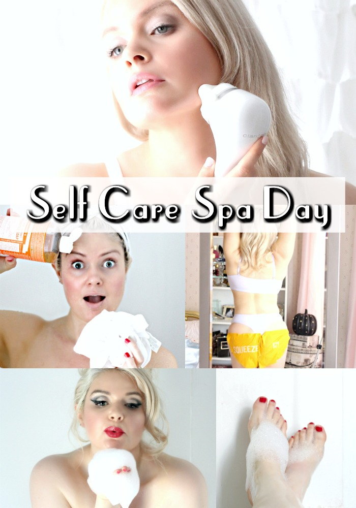 Self Care Spa Day at Home Pamper Day Routine Body Care
