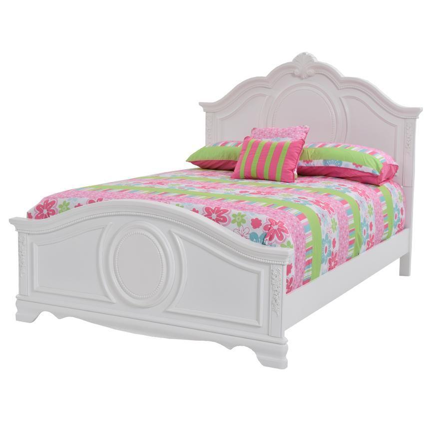 Jess Twin Panel Bed El Dorado Furniture