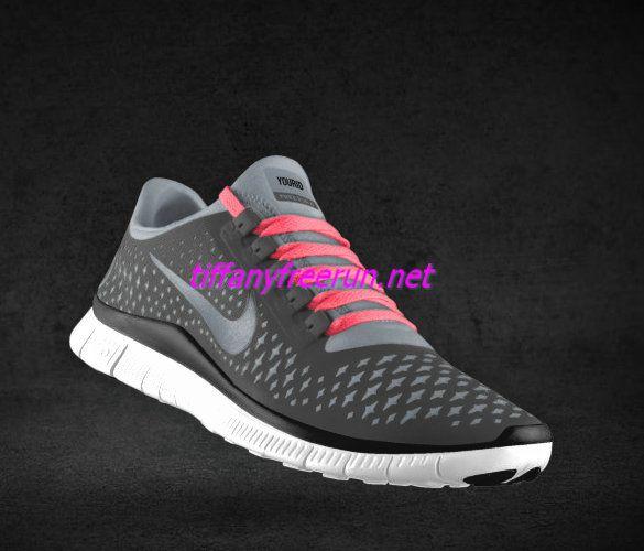 b214eb72cfd44 Womens Nike Free 3.0 V4 Coffee Reflect Silver Iguana Hot Punch Lace Shoes   New Lace Nike Free 002  -  49.00   Collecting Cheap Tiffany Free Runs