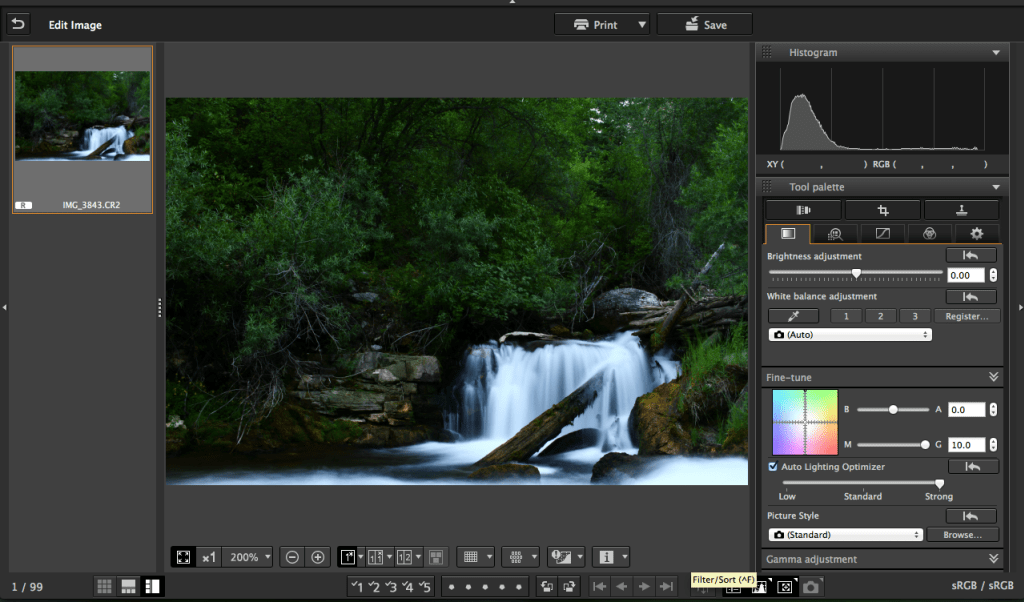 Can lightroom open raw files