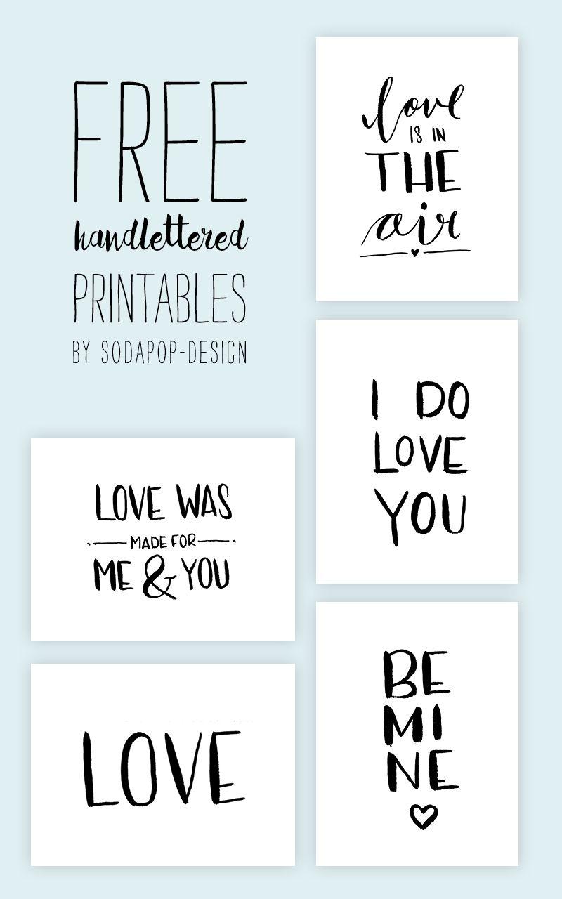 Happy Valentines Day mit Karten zum Selbstausdrucken | Karten ...