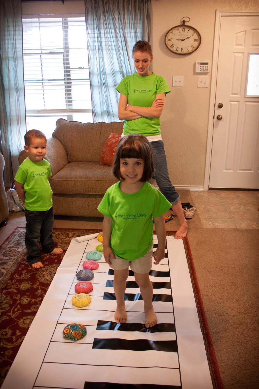 The Teaching Studio Giant Floor Piano