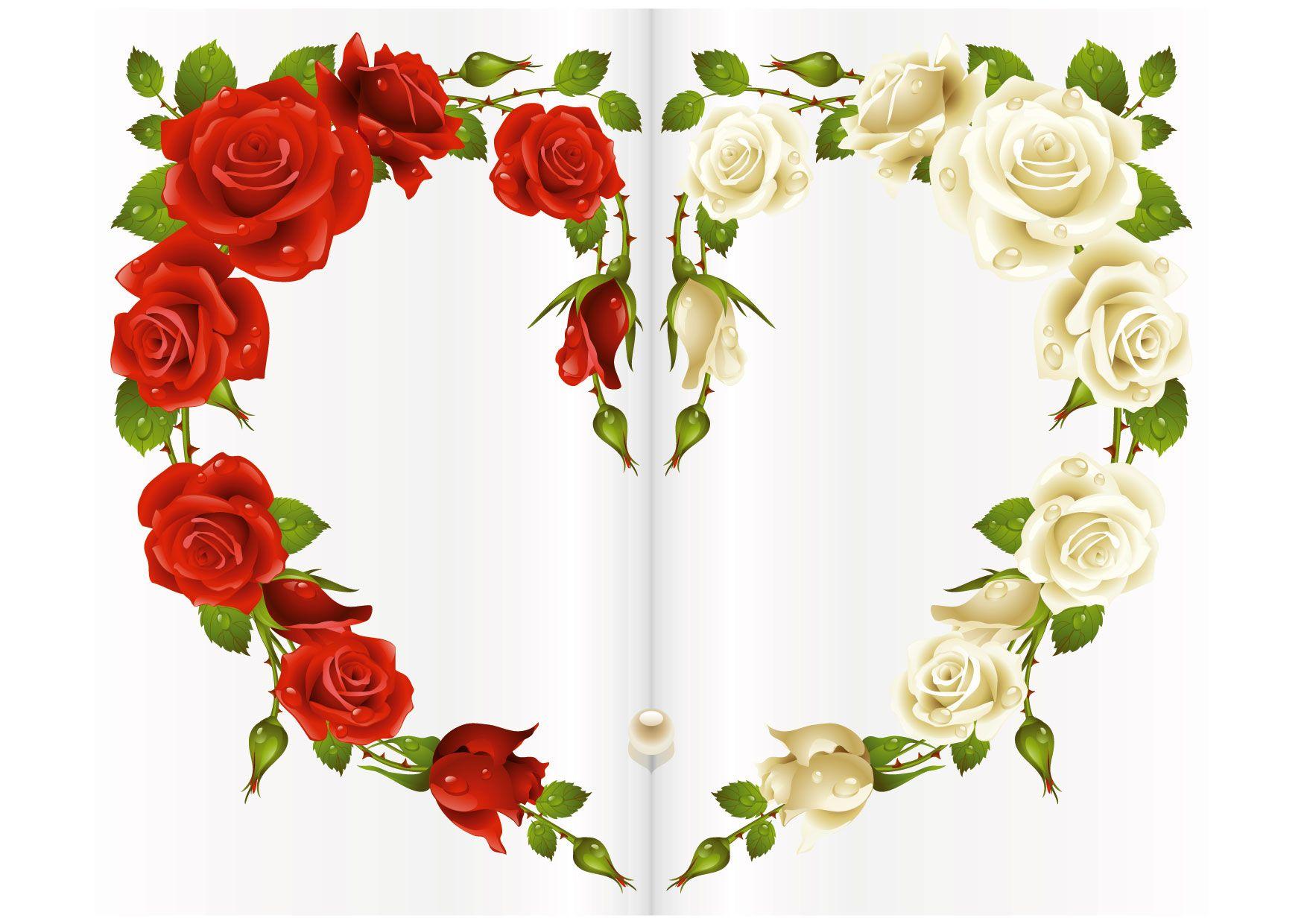 Questo biglietto cuore di rose vi sorprenderà e farà