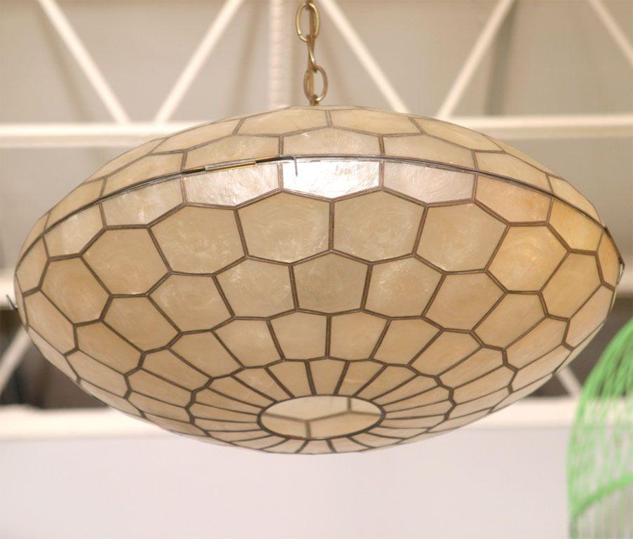 Capiz Shell Chandelier | Inspirational Home Decor